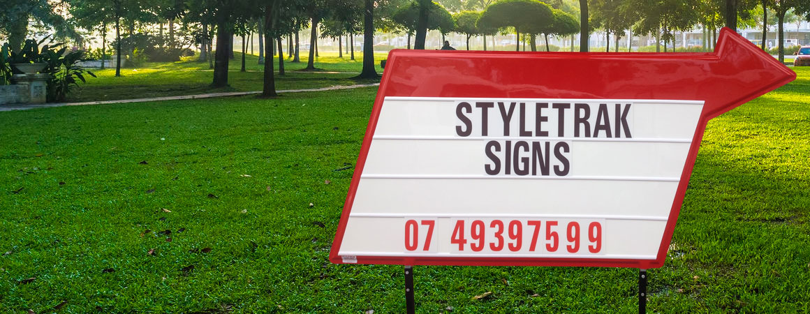 Styletrak Signs - Changeable Signs - Mobile Signs